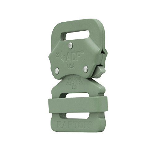 "Raptor I Tactical Military Police Aluminium Quick Release 1"" Gürtelschnalle Foliage Green"