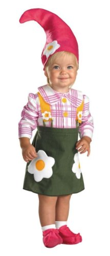 Flower Garden Gnome Toddler Costume (2T)