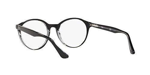 Ray-Ban - Montures de lunettes - Homme Noir Noir  49