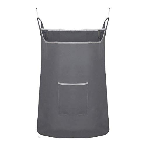 Houseables Hanging Laundry Hamper, Dirty Clothes Bag, 20