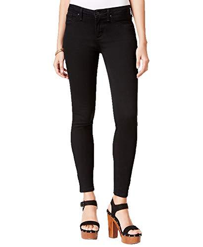 Jessica Simpson Ladies' Coated Skinny Jean (Black, ()