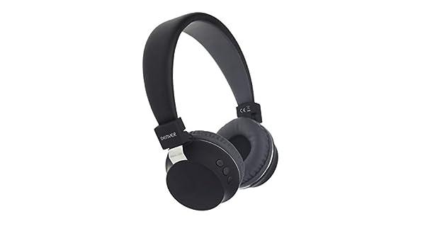 Denver BTH-205 Diadema Negro Auricular con micrófono - Auriculares con micrófono (Media/Comunicación, 5-35 °C, Diadema, Negro, Inalámbrico, ...