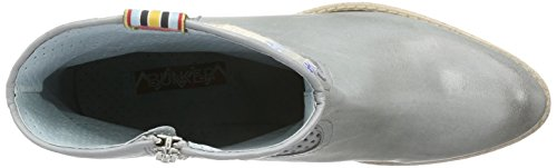 BUNKER Booty - Botas, Mujer Gris (Jeans Silver)