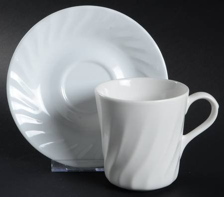 Corning Enhancements (Corelle,Microwave) Mug/Cup & Saucer Set, Fine China Dinnerware (Enhancements Dinnerware Set)