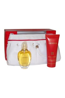 Amarige by Givenchy for Women - 3 Pc Gift Set 1.7oz EDT Spray, 3.3oz Silk Body Veil, Pouch