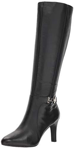 Bandolino Women's LAMARI Fashion Boot, Black, 8 M US