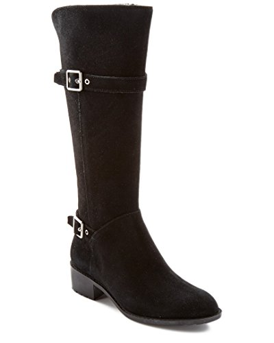 Cole Haan Women's Indiana Tall Waterproof Riding Boot,Bla...