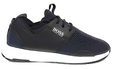 Boss Green Titanium Sneaker For Men,Dark Blue - 44 EU