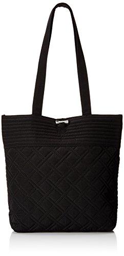 Vera Bradley Unisex Tote Shoulder Handbag, Blue Classic Black