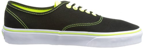 Black Adulto Authentic Zapatillas Unisex Vans Negro Pop Neon vxH0wwdt