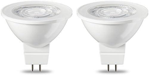 AmazonBasics GU5.3 LED Lampe MR16, 4.5W (ersetzt 35W), warmweiß, 2er-Pack