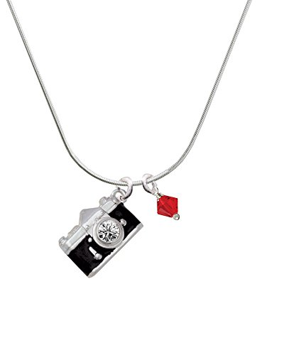 red camera necklace - 7