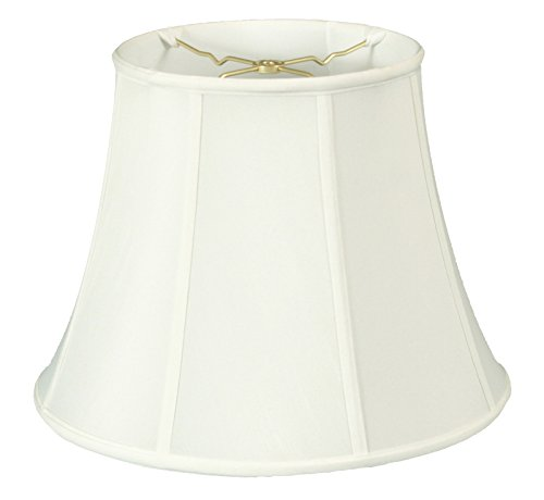 Royal Designs Modified Bell Lamp Shade - White - 9 x 14 x 10.5