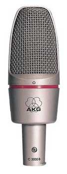 (AKG C 3000 B Condenser Microphone)