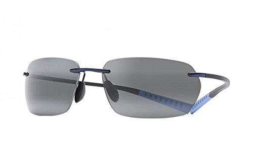 Maui Jim - Gafas de sol polarizadas ALAKAI gris/azul mixto ...