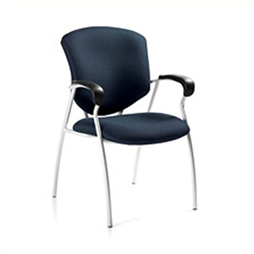 (Global Supra Guest ArmGuest Chair in Sapphire)