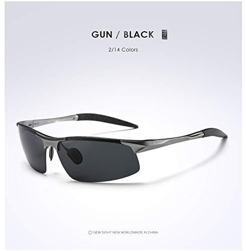 Hombres Gafas UV400 Grayframegray De Star para Multicolor Opcional Gafas Sol Protección UV Ciclismo Blackframeblue Polarizadas De FdvqSSwXU