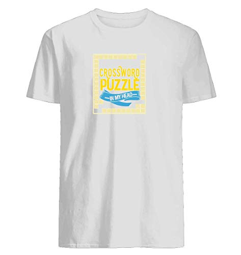 Doing a crossword puzzle in my head perfect gift T-shirt Machine Washable. Comfortable Ring Spun Cotton ()