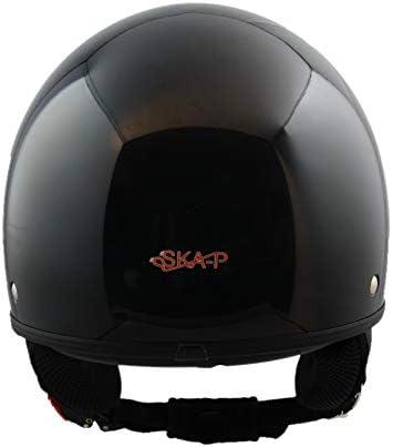 Schwarz Demi-Jethelm SKA-P 1FH Smarty XS 53-54cm