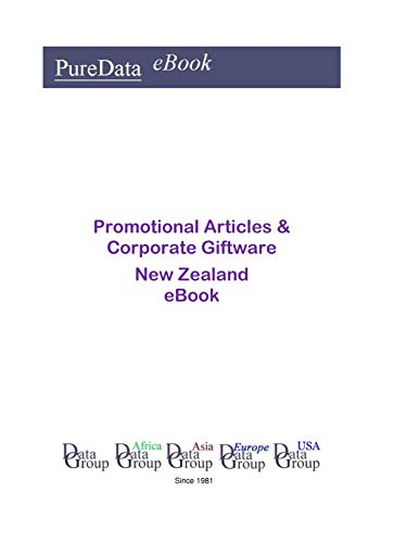 Promotional Articles & Corporate Giftware in New Zealand: Market Sales ()