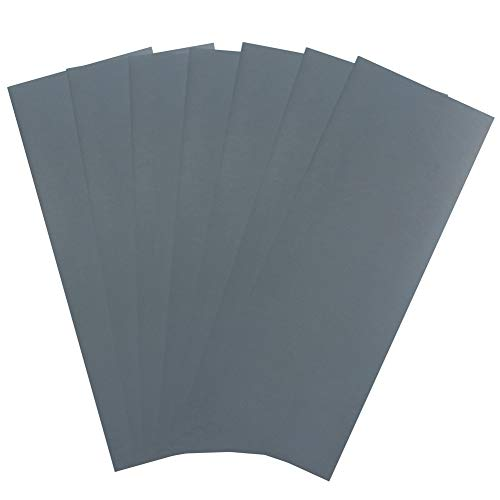 2000 Grit Dry Wet Sandpaper Sheets by LotFancy, 9 x 3.6