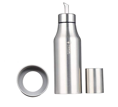 - Tenta Kitchen Olive Oil Vinegar Dispenser Sauce Cruet Edible Oil Container Pot Leak-proof Oil Bottle,Essential with Precise Pouring Spout,25 oz/750ML