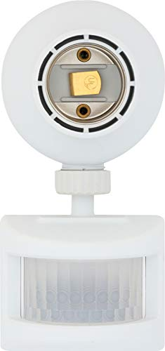 Westek OMLC163BC Motion-Sensing Light Control, White