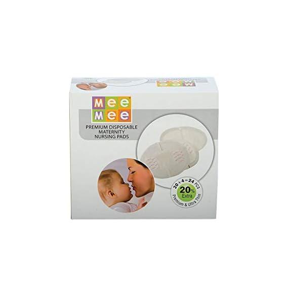 Mee Mee Premium Disposable Maternity Nursing Breast Pads