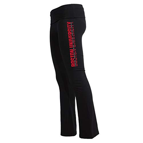 Official NCAA Boston Terriers Women's Athlesiure Legging Yoga Pants
