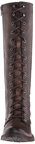 FRYE Womens Melissa Tall Lace Riding Boot Slate I6CT935z