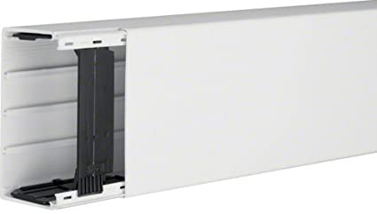 Hager LF6011009010 Bandeja porta - Cable (Bandeja portacables recta, 5460 mm², PVC,