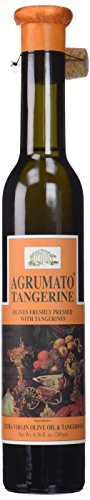Olive Oil Lemon Agrumato - Agrumato Extra Virgin Olive Oil Pressed with Tangerines, Net Wt. 6.76 fl. oz.(200ml)