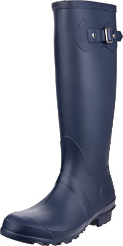 Pull Wellies Footwear Navy Sandringham Boot Women Wellington PVC On Cotswold cHqYRPwc