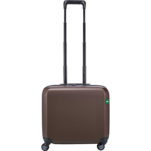 Lojel Rando 17'' Hardside Spinner Carry-On Pilot Case (Chocolate) by Lojel