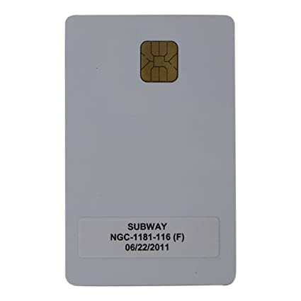 TurboChef NGC-1181-116 SMART CARD - SUBWAY for Turbo Chef - Part#
