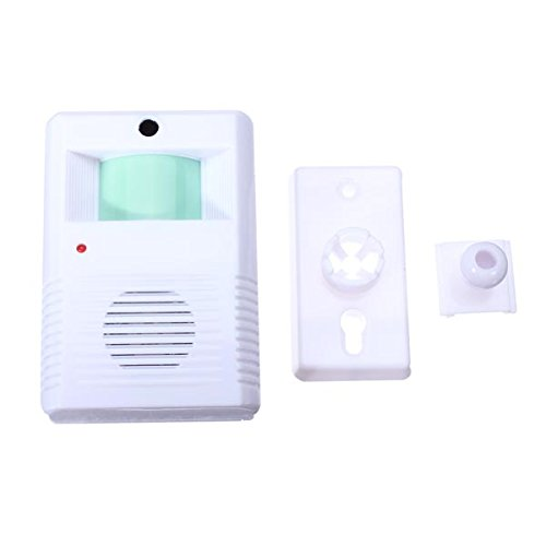 BephaMart Chime Welcome Door Bell Motion Sensor Wireless