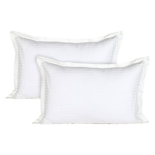 Ahmedabad Cotton Luxurious 2 Piece Sateen Pillow Cover Set – 17″x 27″