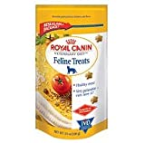 New Larger Packaging Royal Canin Feline Cat Treats 2 Pack ( 2 - 7.7 Ounce Packages)