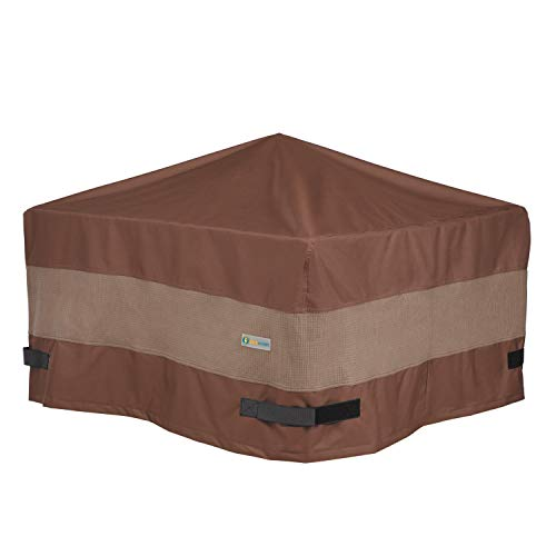 Duck Covers Ultimate Square Fire Pit Cover, 32-Inch  with Ultimate Cover ()