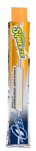 Sqwincher ZERO 3 oz Sqweeze Electrolyte Freezer Pop, Tangerine Orange 159200229 (Pack of - Pops Sqweeze