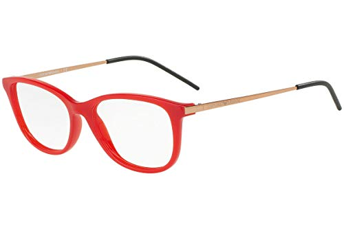- Armani EA3102 Eyeglass Frames 5563-54 - Opal Red