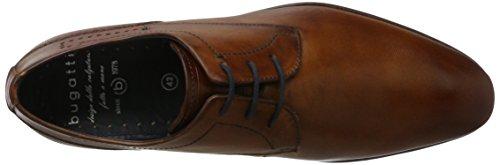 Bugatti Herren 312294011100 Derbys Braun (Cognac)
