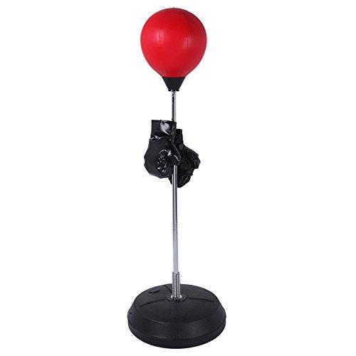 Fitness House Ball - Set para Practica de Boxeo, Color Rojo, Talla única BallSet Boxeo