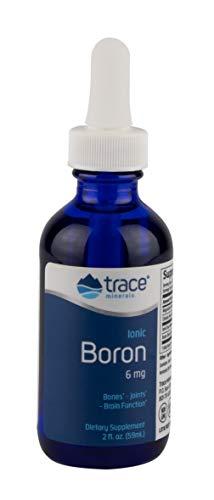 Trace Minerals Liquid Ionic Boron, 6mg, 2 oz