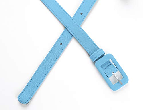 MUXXN Womens Belt- Solid Color Basic Belt for Casual Formal Dress or Jeans