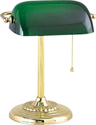 Tensor Banker's CFL Desk Lamp, Brass-plated - - Amazon.com