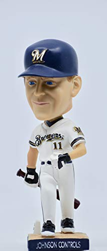 2005 - BD&A - Lyle Overbay Collectors Bobble Head - Milwaukee Brewers/Johnson Controls - Mint - Collectible - Rare