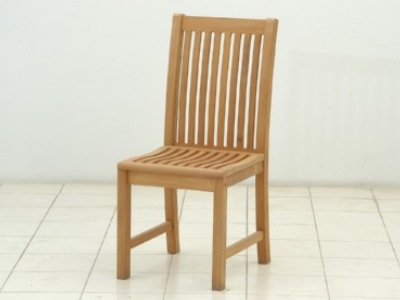 Atlanta Teak Furniture   Teak Side Chair   Grade A