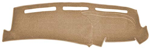 Chevy Blazer Dash Cover Mat - Mini S-10 - Fits 1998-2005 (Custom Carpet, Tan)