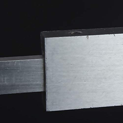 TOOGOO 0-200Mm Acier Profondeur Vernier Calibre Jauge Profondeur Calibre Jauge Microm/ètre Outil de Mesure de la Profondeur M/étrique Microm/ètre /à Jauge